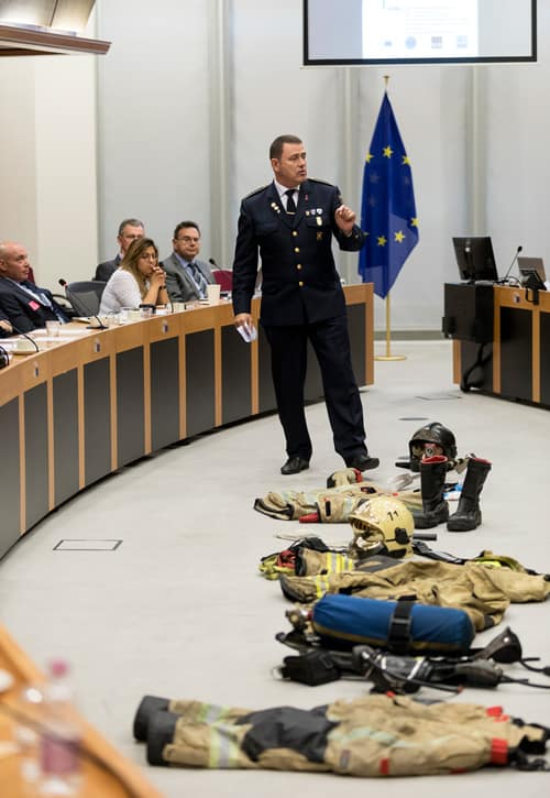 , Firefighters, researchers and European institutions look for solutions to the growing issue of firefighter's cancers